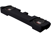 2000-2014 F250 & F350 Super Cab MTX Amplified ThunderForm Sub Box with Dual 10