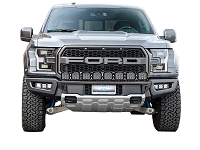 2017-2018 Raptor N-Fab Front Bumper Light Bar with Multi-Mount