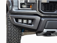 2017-2018 Raptor N-Fab Fog Light Bucket Multi-Mount Brackets