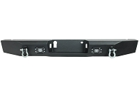 2015-2019 F150 Boxed Steel Off-Road Rear Bumper with LED Mounts