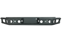 2015-2019 F150 Tubular Steel Rear Bumper with LED Mounts