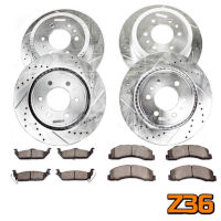 2015-2018 F150 & Raptor Power Stop Z36 Complete Brake Kit (Manual Parking Brake)