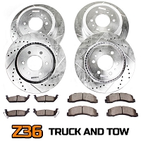 2004-2008 F150 4WD Power Stop Z36 Extreme Truck & Tow Complete Brake Kit (6-Lug Only)