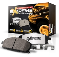 2009-2011 F250 & F350 Power Stop Z36 Extreme Truck & Tow Rear Brake Pads