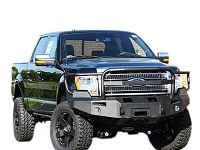2009-2014 F150 Fab Fours Front Winch Bumper w/ Full Grille Guard