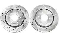 2004-2008 F150 Power Stop Drilled & Slotted Front Brake Rotor Set
