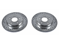 2013-2017 Focus ST Power Stop Drilled & Slotted Rear Brake Rotors