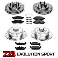 2004-2008 F150 2WD Power Stop Complete Z23 Brake Kit