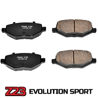 2010-2012 Taurus SHO Power Stop Z23 Evolution Sport Rear Brake Pads