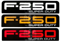 2008-2010 F250 Super Duty Recon Illuminated Side Emblems