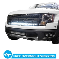 2010-2014 SVT Raptor Rigid Industries E/SR Series Upper Grille Light Bar Kit