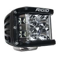 Rigid Industries D-SS Side Shooter Pro LED Light - White - Spot - Single