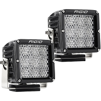 Rigid Industries Dually XL Pro LED Light - White - Diffused - Pair