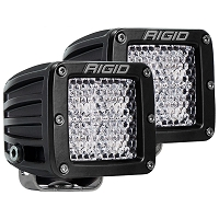Rigid Industries Dually Pro LED Light - White - Diffused - Pair