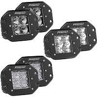 Rigid Industries Dually Pro LED Flush Mount Lights