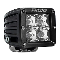 Rigid Industries Dually Pro LED Light - White - Spot - Single