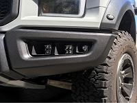 2017-2018 Raptor Raptor Lights Triple Fog Light Bezel Kit
