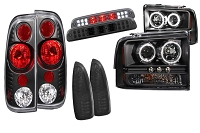 2005-2007 F250 & F350 Anzo Complete Lighting Package