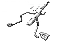 2015-2018 F150 5.0L Solo Mach 44 XV Cat-Back Exhaust Kit (157