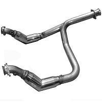 2011-2014 F150 3.5L EcoBoost Solo Performance Off-Road Down-Pipes (Resonated)