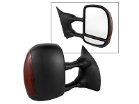 1999-2007 F250 & F350 Spyder Power Towing Heated Mirror Set (LED signal)