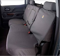 2012-2017 Expedition Carhartt Second Row Seat Covers - Gravel (40/20/40 Split Bench Seat, Adjustable Headrests, Center Shoulder Belt)