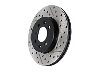 2015-2016 Mustang GT StopTech Drilled & Slotted Sport Rear Left Brake Rotor (Brembo Kits Only)