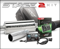 2003-2007 F250 & F350 6.0L Edge Stage 2 Performance Package (CTS2/Jammer/Dry Filter/Extended Cab Short Bed)