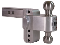 Weigh Safe 4-Inch Locking Turnover Ball 180 Hitch - 2