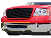 04-05 F150 T-Rex Billet Lower Bumper Overlay Grille (Black)