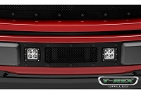2018-2019 F150 T-Rex X-Metal Formed Torch Series LED Light Bar Lower Bumper Grille (Black Studs)
