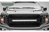 2018-2019 F150 T-Rex X-Metal Laser Torch Series LED Light Bar Upper Grille (Black with Black Studs)