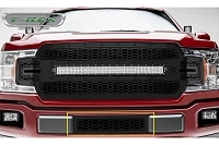 2018-2019 F150 T-Rex Laser X-Metal Studded Lower Bumper Grille (Black with Black Studs)