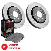 2010-2014 F150 StopTech Front Slotted Truck Axle-Pack Brake Kit