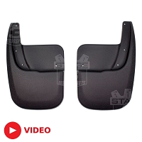 2007-2017 Expedition Husky Mud Guards (Rear)