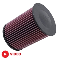2013-2018 Focus ST 2.0L K&N Replacement Air Filter
