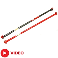 2005-2014 V6/GT/GT500 BMR Tubular Adjustable Panhard Rod