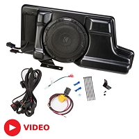 2008-2016 F250 & F350 Kicker VSS Substage Powered Subwoofer Kit (SuperCrew)