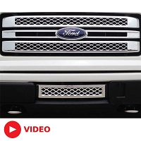 2013-2014 F150 Boost-Bars Limited Lower Plate Grille