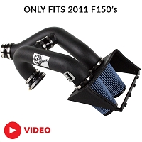 2011 F150 3.5L EcoBoost aFe Stage 2 Cold Air Intake