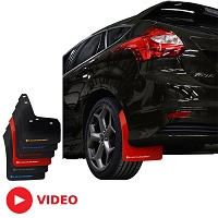2013-2017 Focus ST/RS Rally Armor Front and Rear Mud Flaps