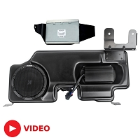 2015-2018 F150 Kicker VSS PowerStage Powered Subwoofer & Amp Kit