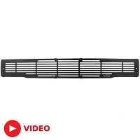2015-2017 F150 Putco Stainless Steel Black Bar Lower Bumper Grille