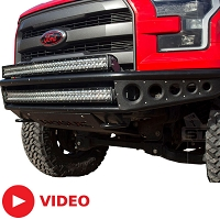 2015-2017 F150 Rogue Racing Rebel Front Off-Road Bumper