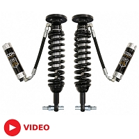 2015-2018 F150 4WD ICON 2.5 CDCV Remote Reservoir Front Coilovers