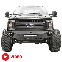 2017-2019 F250 & F350 Fab Fours Vengeance Series Front Bumper