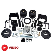 2017-2019 F250 & F350 4WD AirLift LoadLifter 7500XL Load Leveling Kit