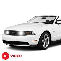 2005-2012 Mustang GT Diode Dynamics Fog Light HID Conversion Kit