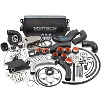 2015-2017 Mustang GT Vortech Black SI-Trim V3 Supercharger Kit (Satin)