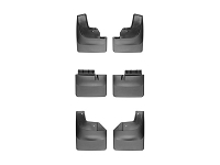 2017-2018 Raptor WeatherTech No-Drill DigitalFit Mudflaps (Front, Rear & Mid-Flap)